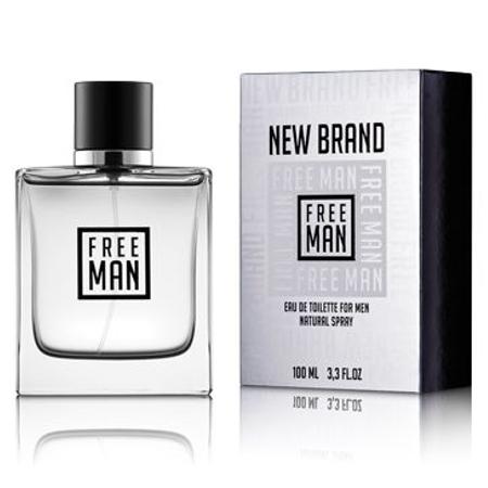 New Brand Free Man Eau de Toilette para Hombre 100 ml